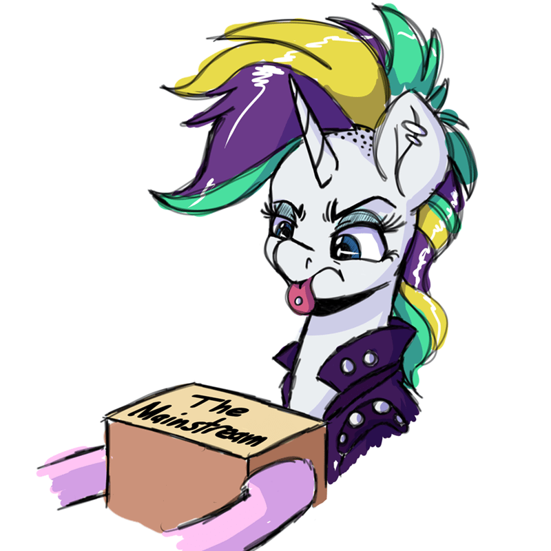 it's not the mane thing about you witch taunter rebel rarity - 9076311808