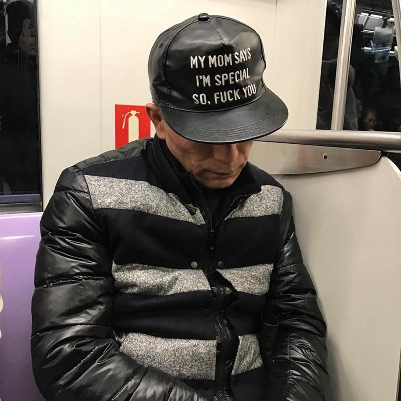 t-shirt - Baseball cap - MY MOMSAYS IM SPECIAL SO, FUCK YOU