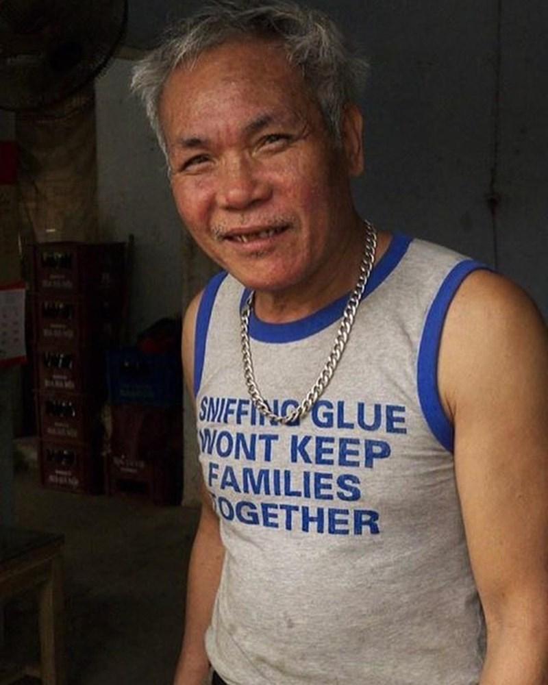 t-shirt - Sleeveless shirt - SIEFING GLUE WONT KEEP FAMILIES OGETHER