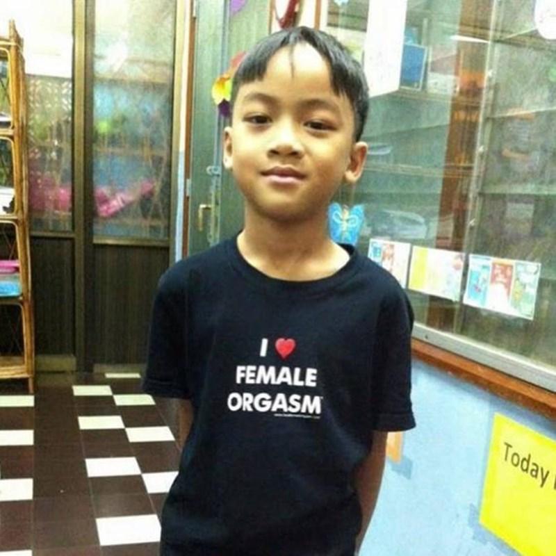 t-shirt - T-shirt - FEMALE Today ORGASM