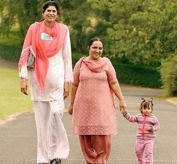 tallest women - People