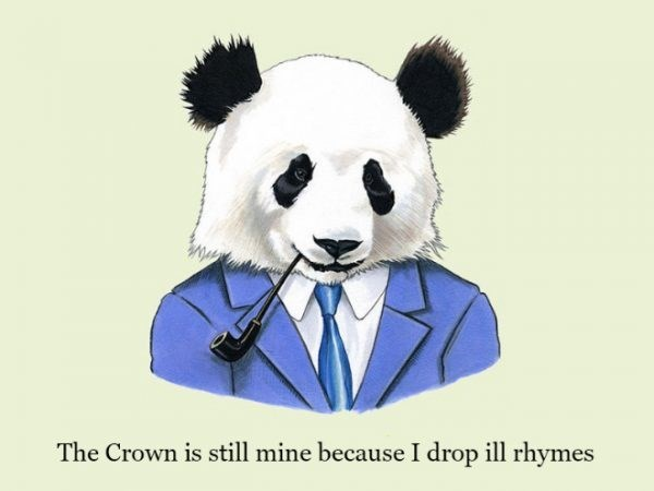 Bear - The Crown is still mine because I drop ill rhymes