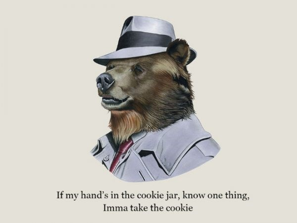 Hat - If my hand's in the cookie jar, know one thing, Imma take the cookie