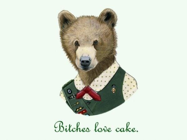 Bear - 102 Bitches lore cake.