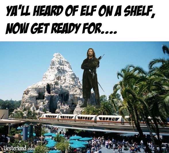 Landmark - YA'LL HEARD OF ELF ON A SHELF, NOW GET READY FOR.... Lesterland com