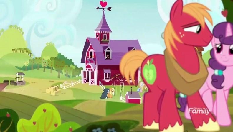 applejack sugar belle it's not the mane thing about you screencap Big Macintosh rarity - 9076656384