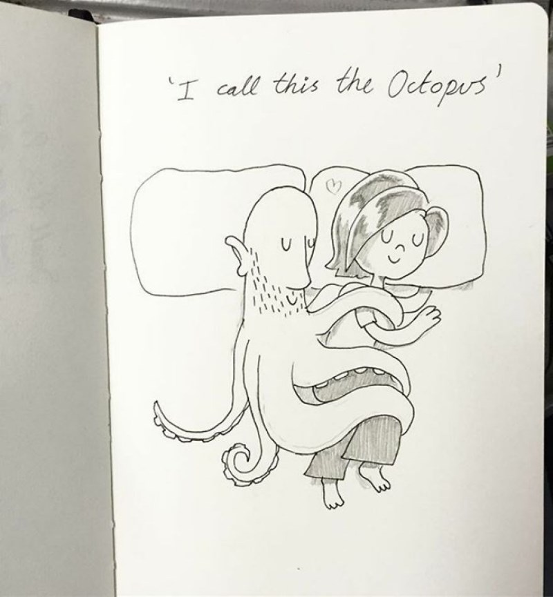 family doodle - Cartoon - I call this the Octopus
