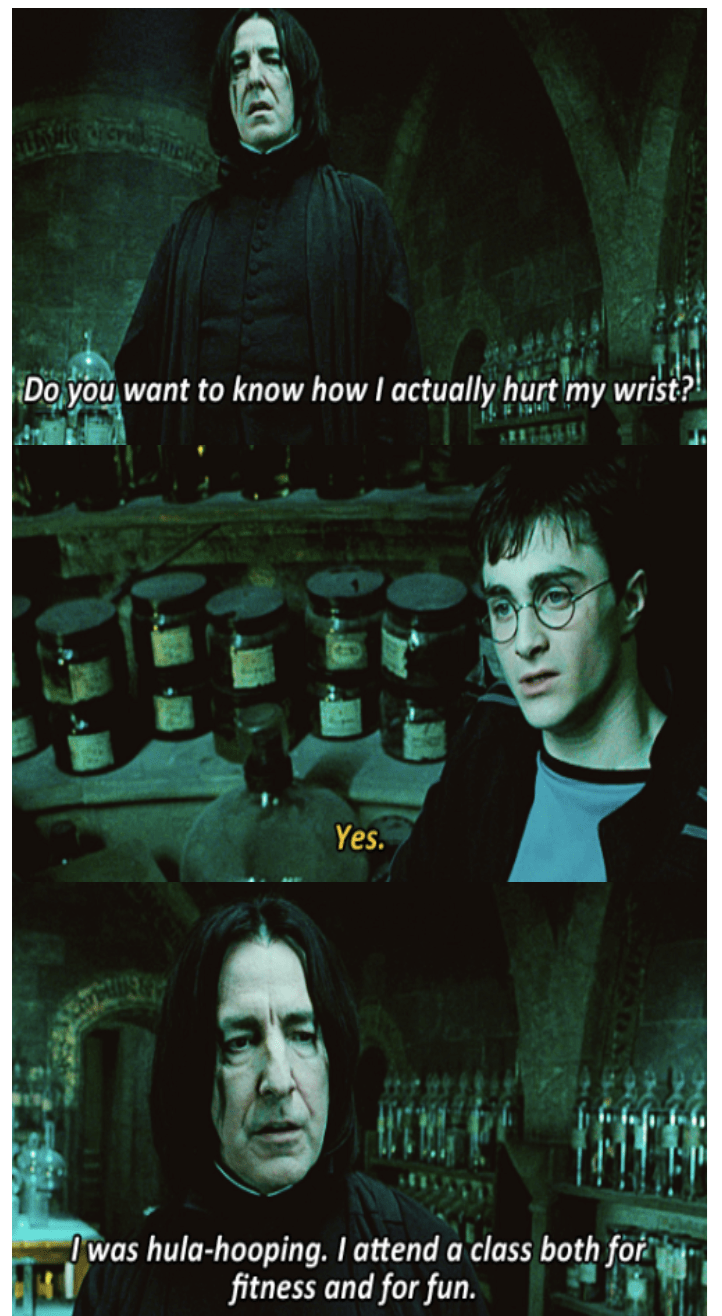 someone combined harry potter brooklyn nine nine quotes