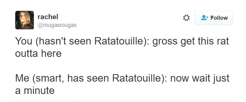 Funny meme about Ratatouille.