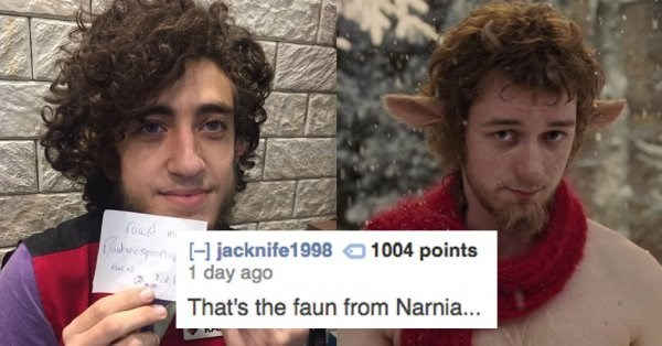 Face - in dwespeHjackn ife1998 1 day ago 1004 points That's the faun from Narni...