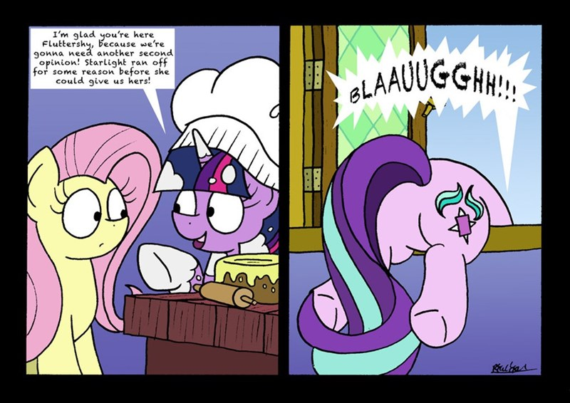 a health of information bob the dalek starlight glimmer twilight sparkle comic fluttershy - 9079576576