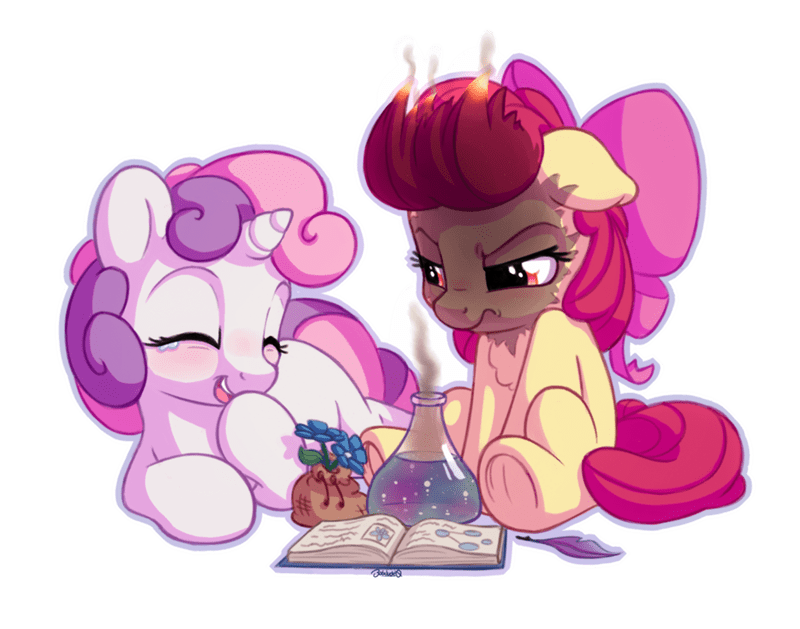 Sweetie Belle apple bloom bobdude0 - 9079577856