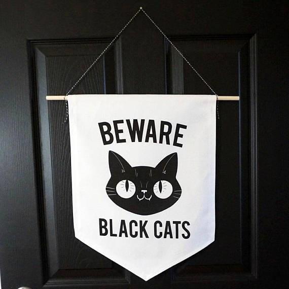 Cat - BEWARE BLACK CATS