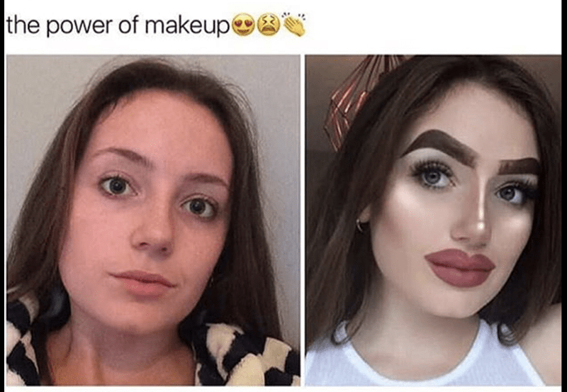 Face - the power of makeup