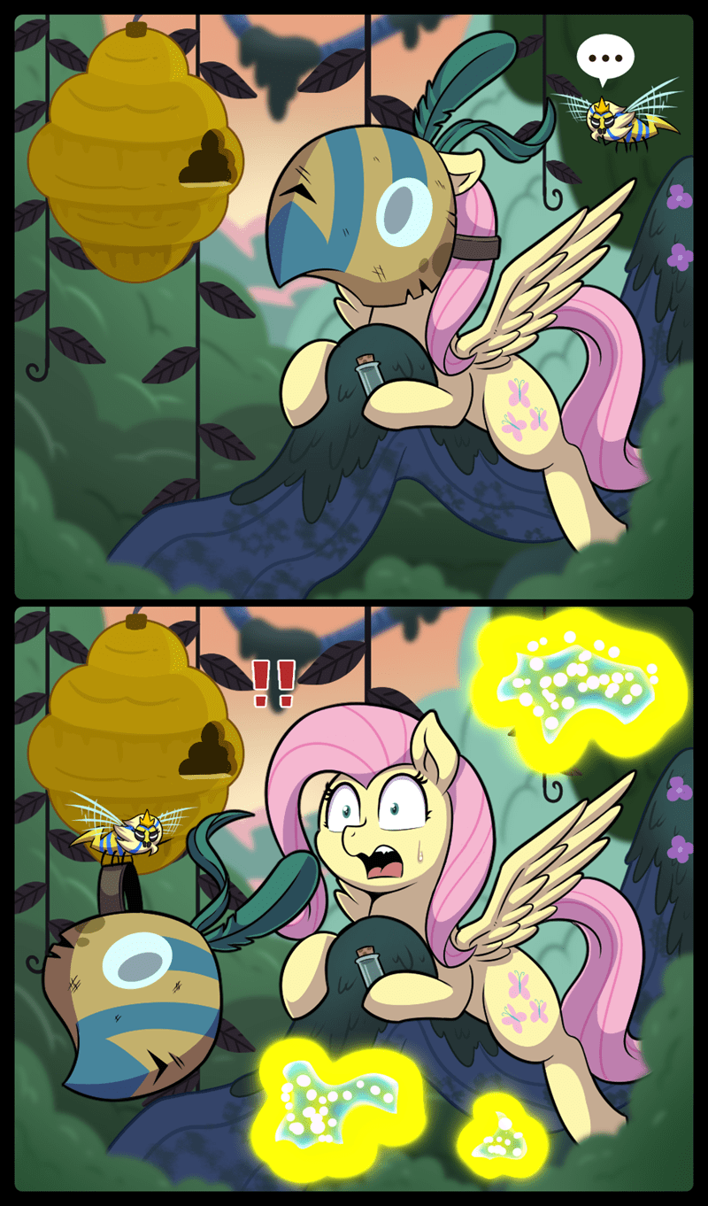 a health of information vavacung comic fluttershy - 9080492032