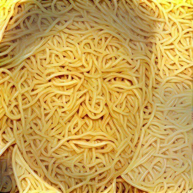 Donald Trump spaghetti ostagram