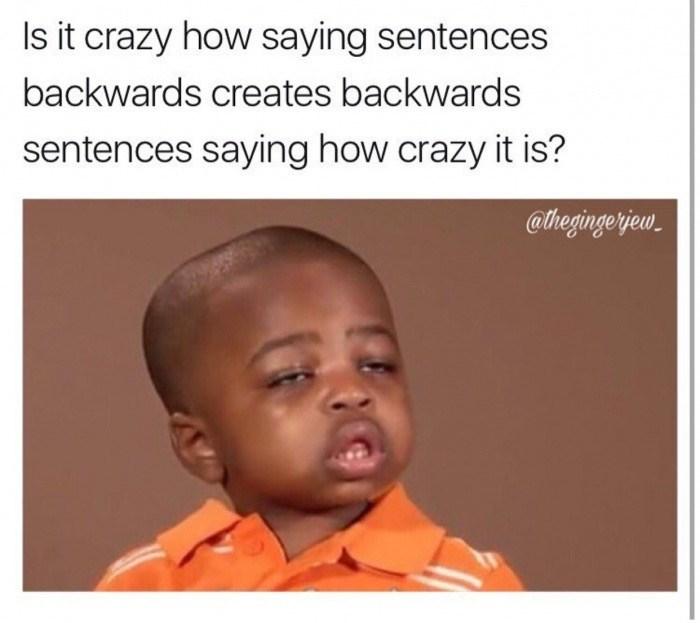 Palindrome meme