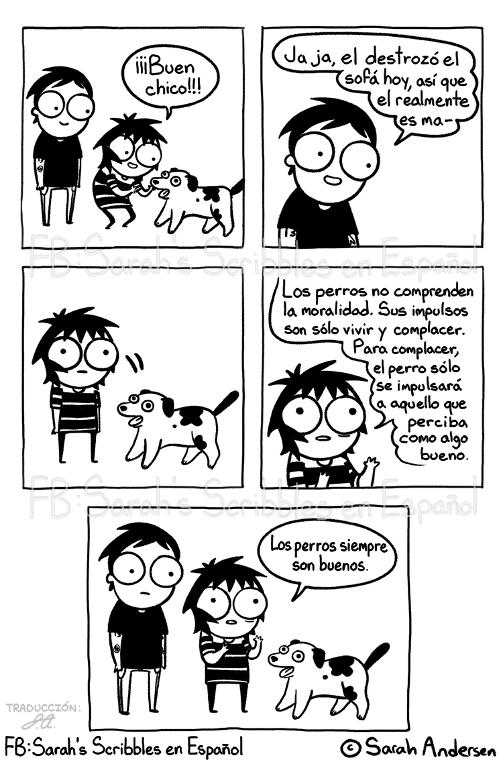 hay algo que entender y es que los perros son siempre buenos
