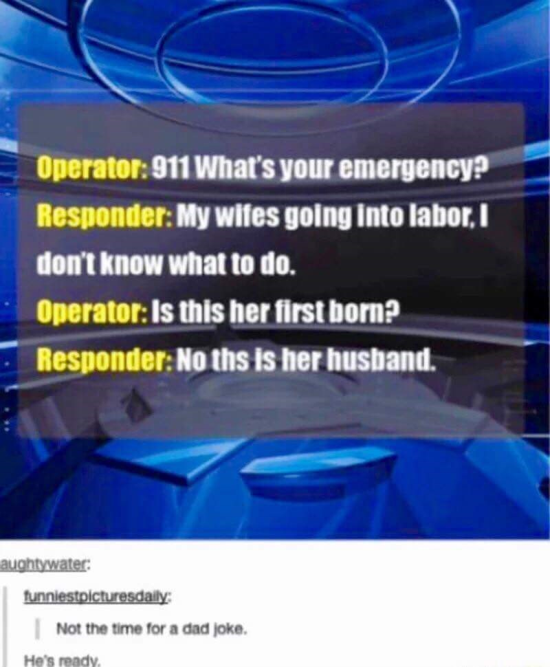 meme about preparing to become a dad by telling dad jokes