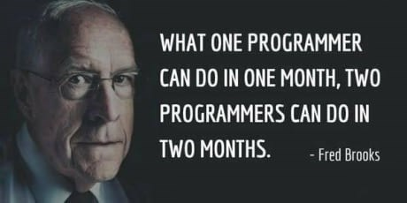 Fred Brooks quote about programmers
