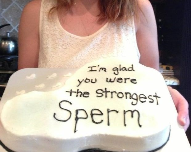 Font - I'm glad you were the Strongest Sperm