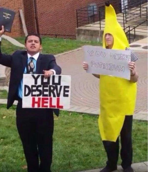 Protest - POTASIUM YHU DESERVE HELL