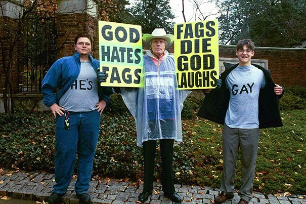 Tree - GOD HATES FAGS DIE GOD LAUGHS HESAGS GAY