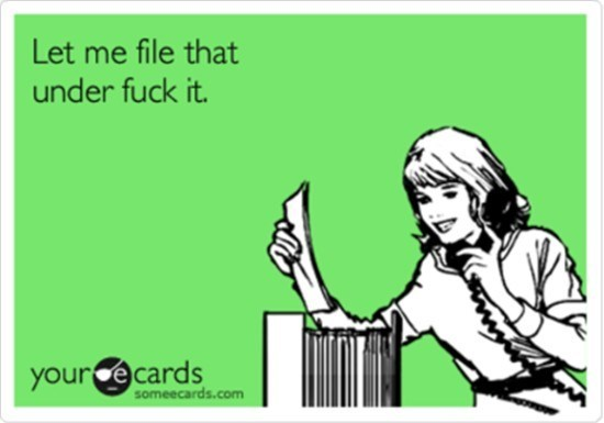 ecard for those times you just don't care