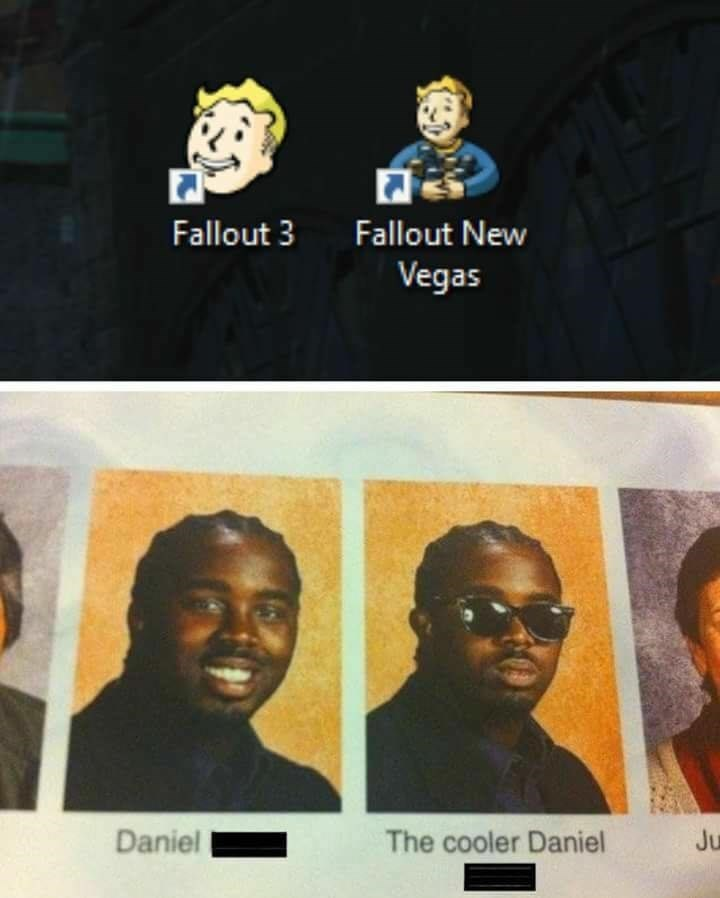Funny mee about fallout.