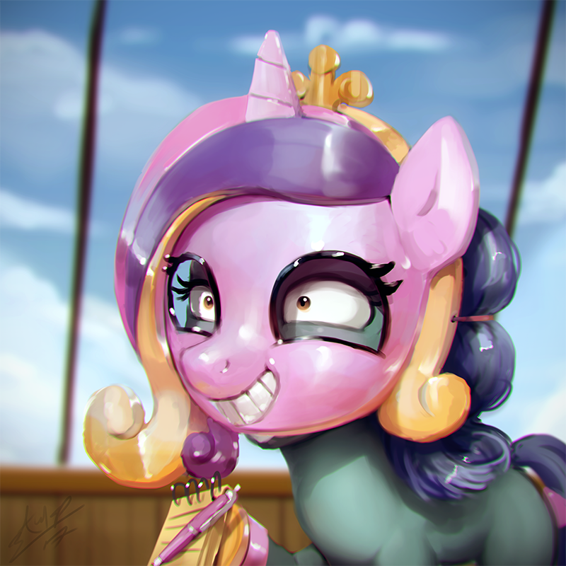 princess cadence assasin monkey once upon a zeppelin - 9083367680