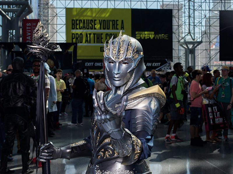 New York Comic Con 2017 and metal defender