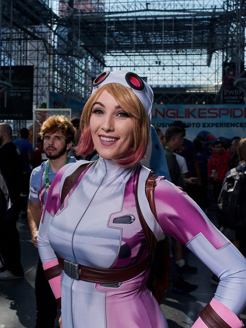 New York Comic Con 2017 girl