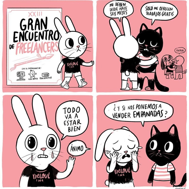 encuentro anual de freelances comic
