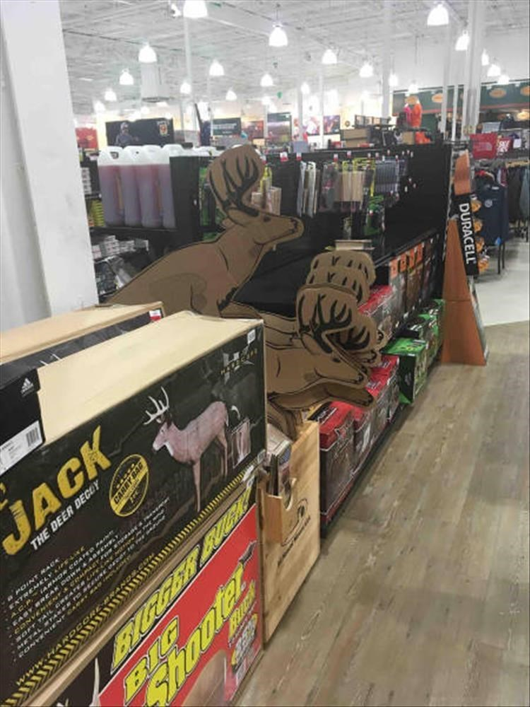 Retail - JACK THE DEER DECO r E EA DURACELL AG BIG