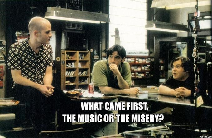 Musician - GRAFT WHAT CAME FIRST THE MUSICORTHE MISERY?