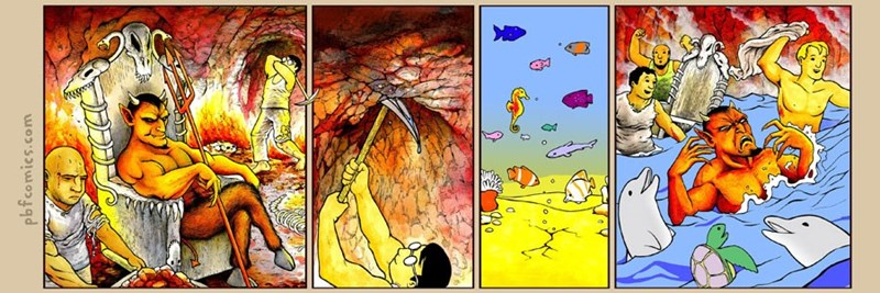 Twisted Comic - Modern art - pbfcomics.com