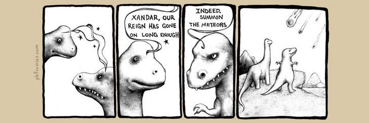 Twisted Comic - Cartoon - INDEED SUMMON XANDAR, oUR REIGN HAS GONE ON LONG ENOUGH THE METEORS