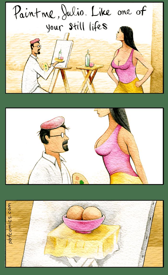 Twisted Comic - Cartoon - Paintme ulio. Like one of your Still lifes pbfcomics.com