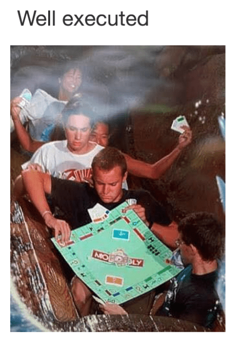 splash mountain monopoly theme park Memes - 9084558080