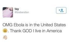 Ebola tweet fail