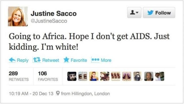 aids africa tweet fail