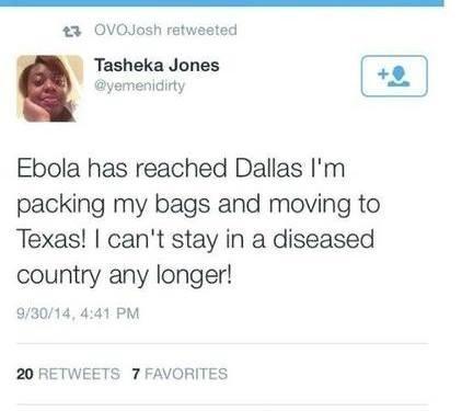 Dallas Texas tweet fail