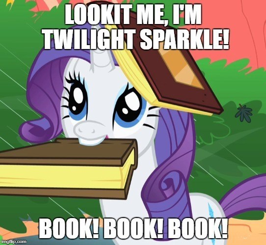 books screencap twilight sparkle rarity toy story look before you sleep - 9085084672