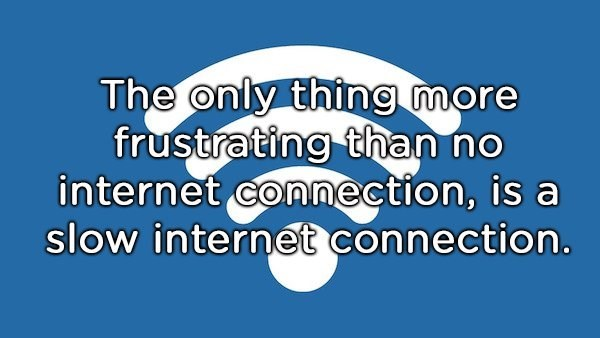 shower thought about bad internet connection