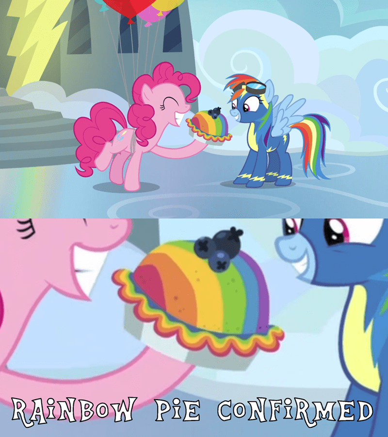 shipping secrets and pies screencap pinkie pie comic rainbow dash - 9085592064