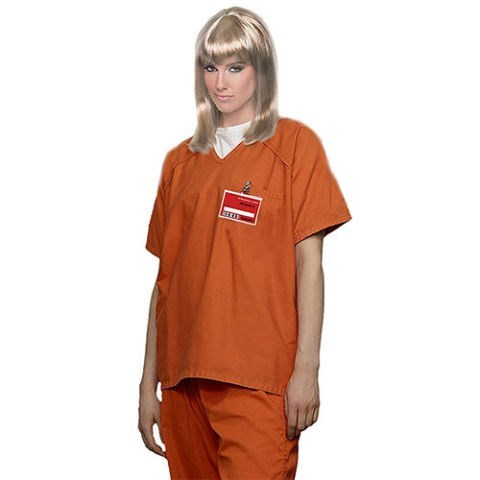 costume of inmate from Orange Is The New Black
