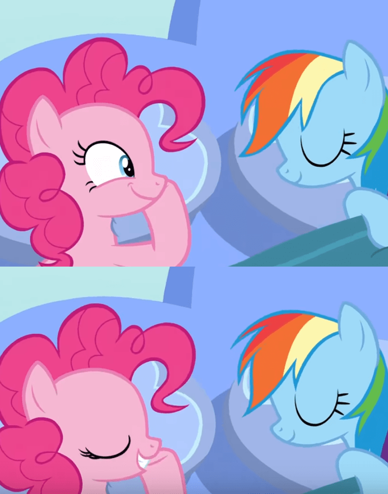 shipping secrets and pies screencap pinkie pie comic rainbow dash - 9086194944