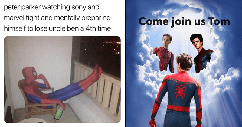 Funny memes about Spider-Man leaving the Marvel cinematic universe following lack of Disney and Sony deal