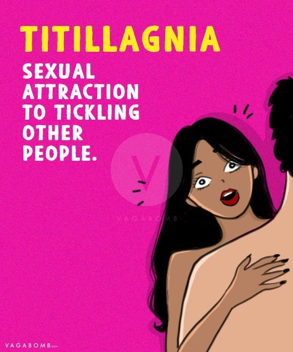 Text - TITILLAGNIA SEXUAL ATTRACTION TO TICKLING OTHER PEOPLE. VAGABOMB VAGABOMBco