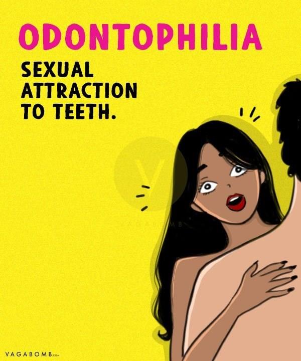 Cartoon - ODONTOPHILIA SEXUAL ATTRACTION TO TEETH MB VAGABOMB.co